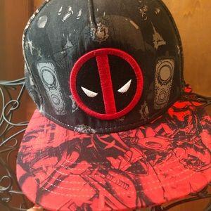 Marvel baseball cap like new